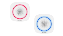 Hikvision DS-PS1-I-WE Red or Blue Wireless Indoor Alarm Sounder