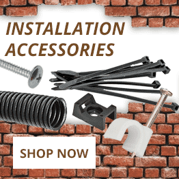 Ties, clips and containment - Installation accessories