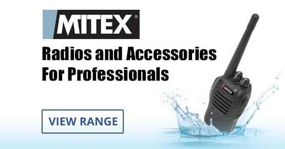 Professional two way radios from Mitex
