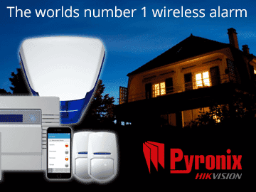 Protect your home or business with a Pyronix wireless alarm