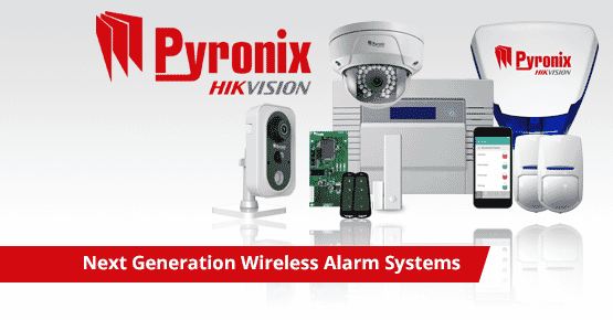 Professional wireless alarm systems
