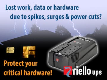 Buy Riello UPS online from Connectec.uk