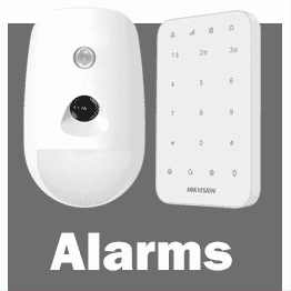Hikvision smart alarm range