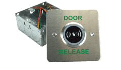Touch Free Flush Mount Door Release IR Button