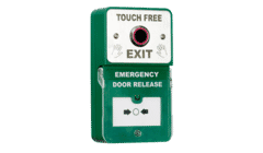 RGL DU-NT/TF Dual Unit Contactless Exit Button with Emergency Door Release