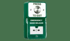 RGL DU-SS/PTE Dual Unit Steel Exit Button with Emergency Door Release