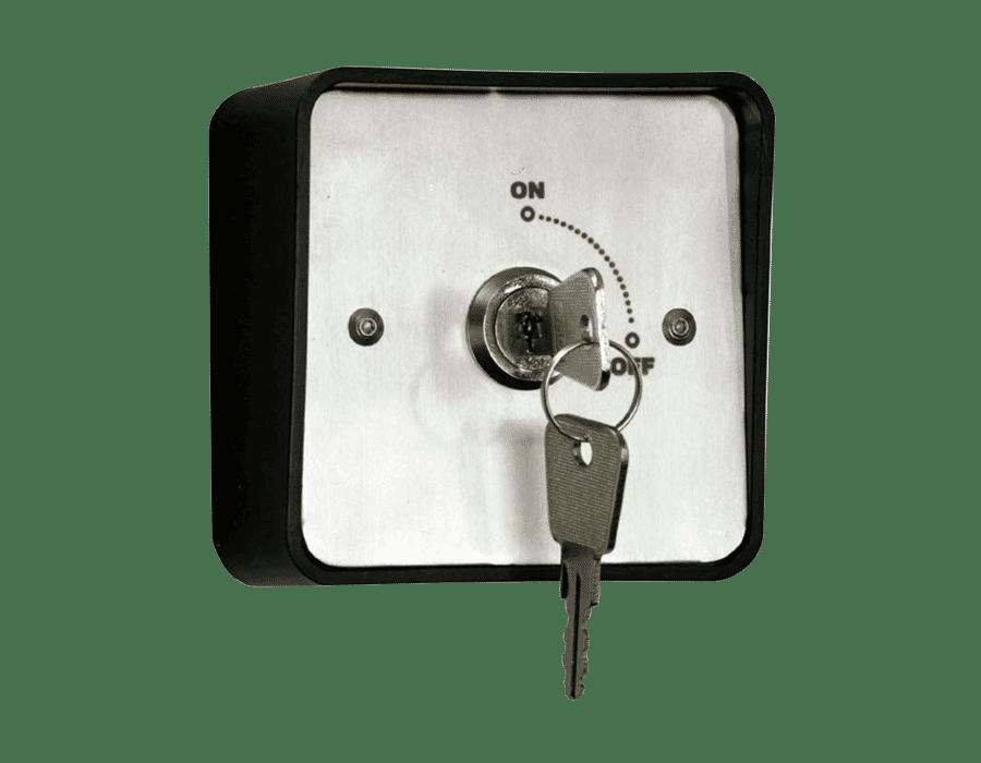 RGL KS-1 Stainless Steel Key switch 12/24 vdc latching