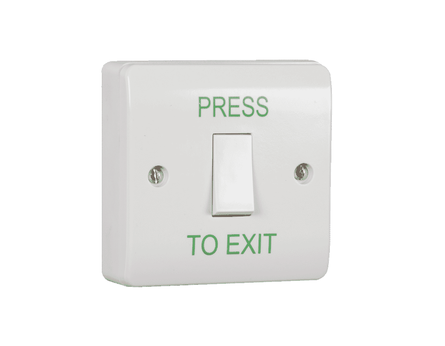 RGL EBLS/PTE Plastic Surface Mount Push to Exit Button