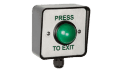 RGL WP-EBGBWC02/PTE IP66 Push To Exit Button