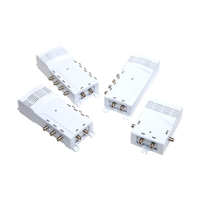 Antiference UHF/VHF TV Aerial Distribution Amplifiers