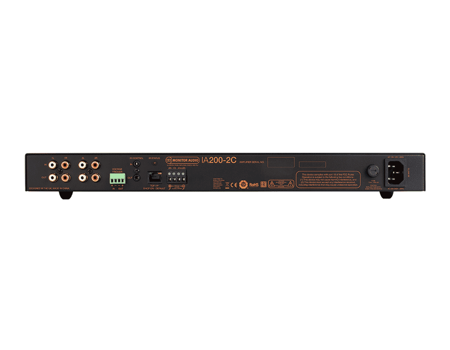 Monitor Audio IA200-2C 2 Channel IP Connected Amplifier