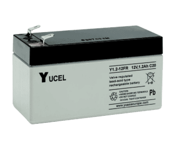 Yuasa Yucel 12v 1.2Ah Lead Acid Battery
