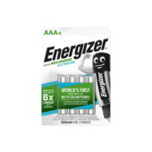 Energizer Extreme Rechargeable AAA 800mah 4 Pack