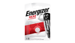 Energizer CR1632 Lithium Coin 3V Single Pack