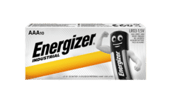 Energizer Industrial Alkaline AAA Batteries 10 Pack