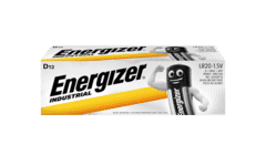 Energizer Industrial Alkaline D Batteries 12 Pack
