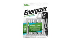 Energizer Extreme Rechargeable AA 2300mah 4 Pack
