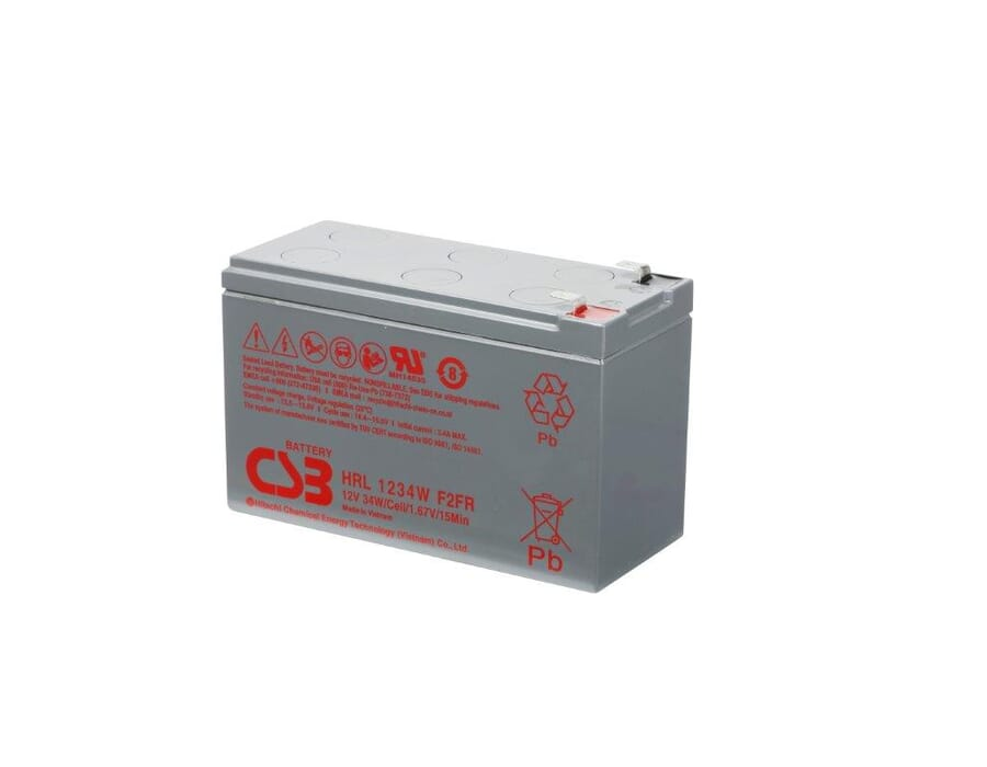 Hitachi HR1234W 12v 34W Lead Acid Battery