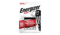 Energizer MAX® Alkaline AAA Batteries 4 Pack