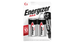 Energizer MAX Alkaline C Batteries Twin Pack