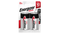 Energizer MAX Alkaline D Batteries Twin Pack