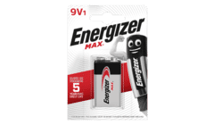 Energizer MAX Alkaline PP3 9V Battery Single Pack
