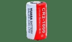 Yuasa High Capacity CR123A 3V 1700mAh Lithium Battery