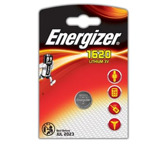 Energizer 1620 Lithium Coin 3v Battery Single Pack