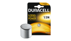 Duracell DL1/3N CR1/3N Lithium 3v Battery Single