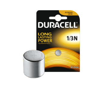 Duracell DL1/3N CR1/3N Lithium 3v Battery Single