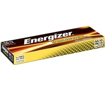 Energizer Industrial Alkaline AA Batteries 10 Pack