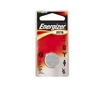 Energizer 2016 Lithium Coin 3v Battery Single Pack