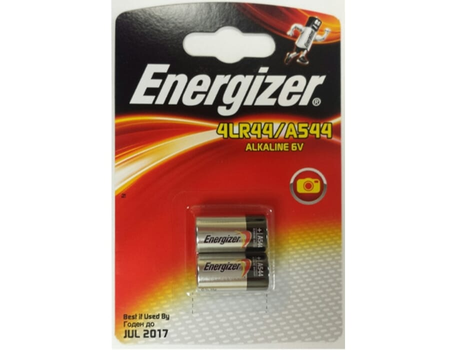 Energizer A544 | 4LR44 6V Twin Pack Batteries