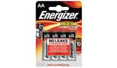 Energizer MAX® Alkaline AA Batteries 4 Pack