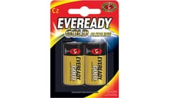 Eveready Alkaline Gold C Batteries Twin Pack