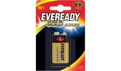 Eveready Alkaline Gold PP3 9V Battery Single Pack