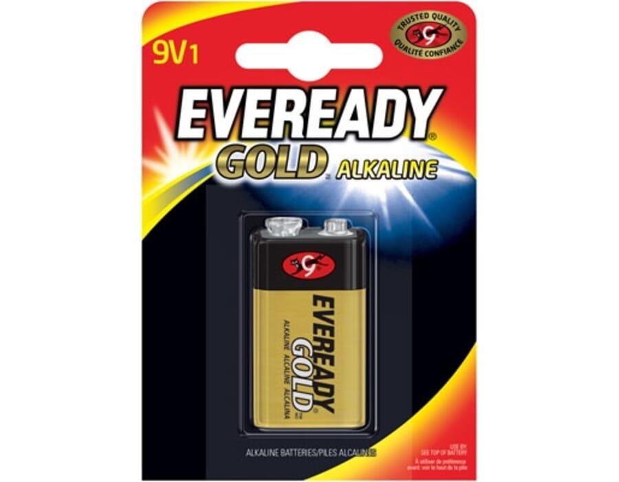 Eveready Alkaline Gold PP3 9V Battery Single Pack