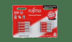 Fujitsu AAA Alkaline Batteries 8 Pack