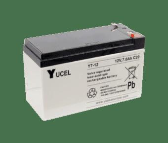 Yuasa Yucel 12v 7Ah Lead Acid Battery