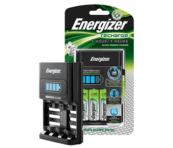 Energizer Fast 1 Hour Battery Charger AA/AAA