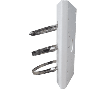 Hikvision DS-1275ZJ-SUS Stainless Steel Pole Mount Bracket