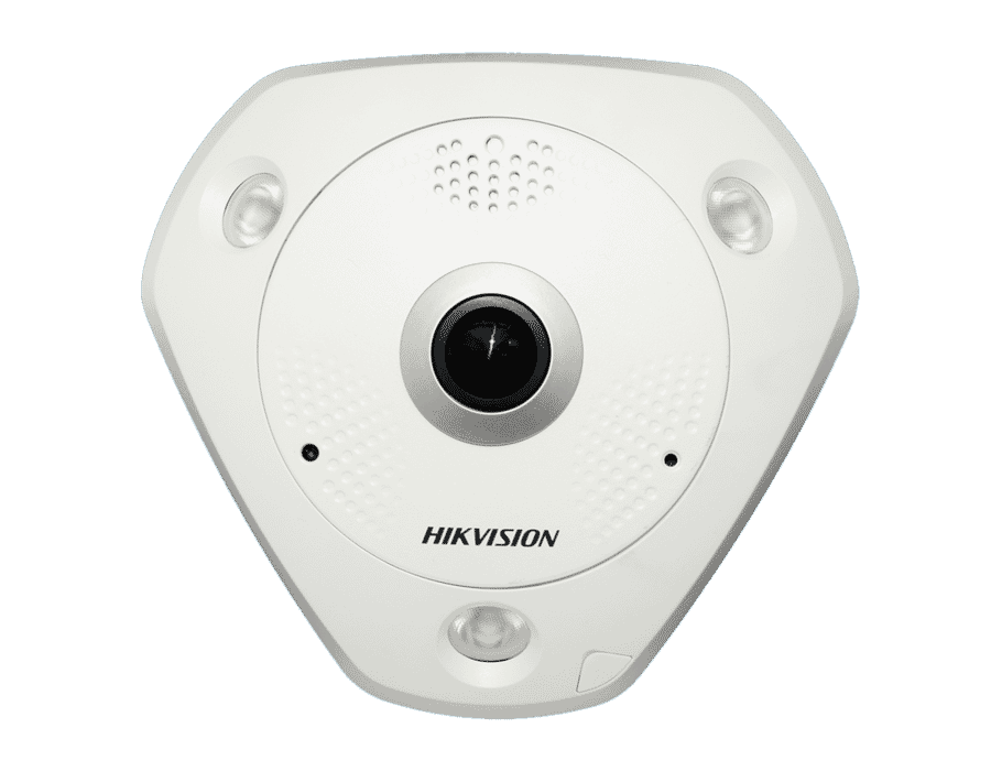 Hikvision DS-2CD63C2F-IVS 12MP IP 360° Fisheye Camera