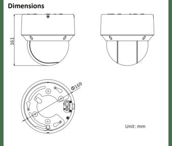 Hikvision DS-2DE4A425IW-DE 4MP IP PTZ Dome 25x Zoom