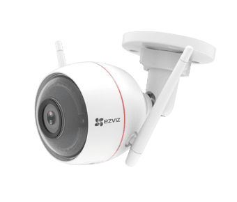 EZVIZ C3W Full HD Smart Security Cam with Siren & Strobe Light