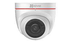 EZVIZ C4W HD Outdoor Smart Security Turret Cam With Siren/Strobe