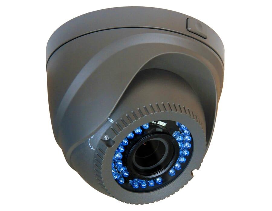HiWatch THC-T220G-V 2MP Grey TVI Vari-focal Turret