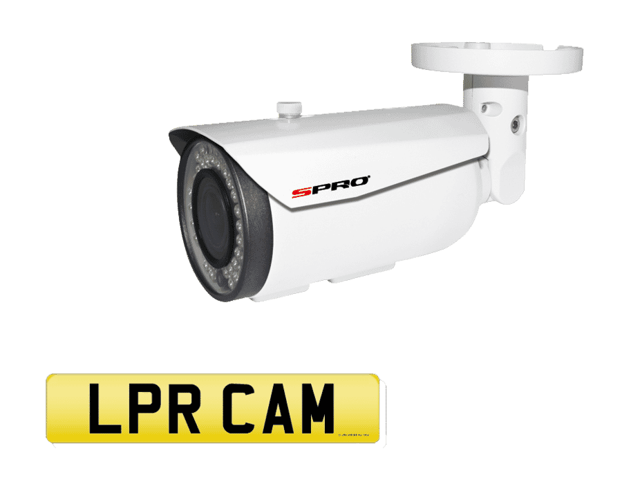 SPro 2MP Analogue Number Plate Recognition Bullet Camera