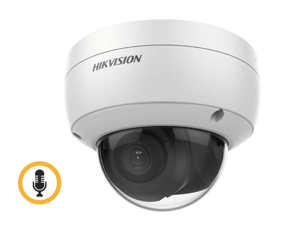 Hikvision DS-2CD2143G0-IU 4MP IP Mini Dome with Mic 2.8mm