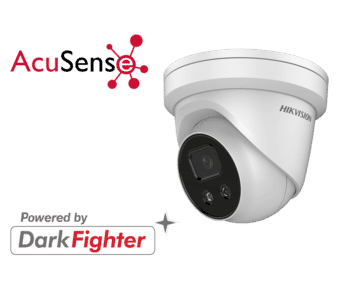 Hikvision DS-2CD2326G1-I 2MP IP Acusense Turret Camera 2.8MM
