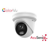 Hikvision DS-2CD2327G2-L 2MP IP Acusense Colorvu Turret 2.8mm
